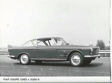 Fiat Coupe 2300 S Original Press Photograph 1961 Stamped Rusconi e Paolazzi