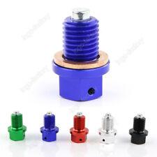 Magnetic Oil Drain Plugs Bolt Screw For YAMAHA YZ125 YZ250F YZ450F/WR250F/WR450F