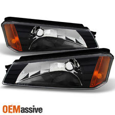 02-06 Avalanche *Body Cladding Model* Bumper Signal Lights Replacement 2002-2006