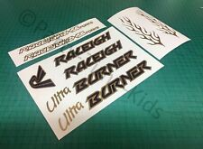 Old school Bmx Custom Ultra Burner style Stickers Decal Set
