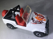 1981 HOT WHEELS REAL RIDERS JEEP CJ-7 - White