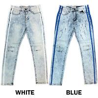 Details about  /ACCESS WASH JEANS LEVI/'S 501 STYLE BIKER PANTS SLIM STRAIGHT FIT AP16254