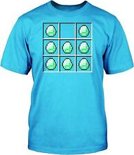 Minecraft T-shirt Mine Craft Tshirt DIAMOND CRAFT Official Mining Shirt Age 7-8