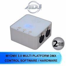 ADJ MYDMX 3.0 MULTI PLATFORM DMX CONTROL SOFTWARE / HARDWARE SYSTEM MY DMX