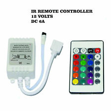 24 Key Rgb Ir Remote Led Controller for Smd 3528 5050 Rgb Led Strip Light