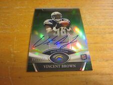 Vincent braun 2011 Topps Platinum Rookie Autographs grün Ref. #101 # würde 047/150