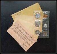 Sealed 1963 Silver 5 Coin Proof Set BU Unc Original Mint Coins