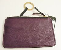 NWT MARC BY MARC JACOBS Pansy Purple Multi Coin Wallet