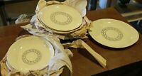 13 piece Stetson Duncan Hines Plate Bowl serving tray set Greek Key Midcentury