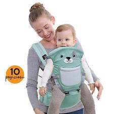 Marsupio Ergonomico Porta Bebè 10 Posizioni in 1 Zaino Porta Bimbo da 3 ai 20 kg