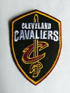 Cleveland CAVALIERS Patch, NBA,   New,- Iron On, Collectible- FREE Ship. USA