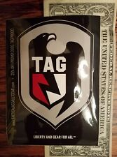 TAG Tactical Assault Gear Sticker  DEVGRU Seals SWAT