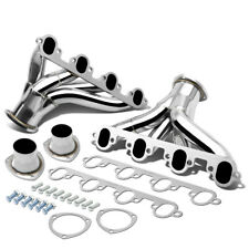Fit 429/460 Ford Bbc Big Block Stainless Shorty Hugger Header Exhaust Manifold