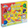 25pc Play Kids Dough Tubs & Shaping Sets Alphabet & Number Craft Children Xmas
