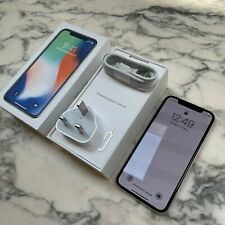 Apple iPhone X 64GB Unlocked SIM-Free Smartphone - Silver [Excellent]