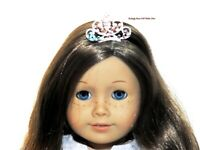 Rhinestone Tiara Crown Metal 18 in Doll Clothes Accessory For American Girl X