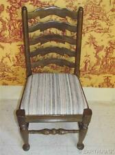 Ethan Allen Royal Charter Oak Ladderback Dining Room Side Chair 16 6020