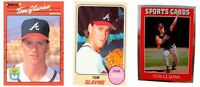 (3) Tom Glavine Odd-Ball Baseball Card Lot Atlanta Braves