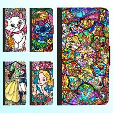 iPhone X 8 8 Plus 7 6s 6 Plus PU Leather Flip Wallet Case Disney Princess Cover