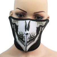 Facemask Skull Motorcycle Half Face Mask Cycling Skiing Biker Snowboar SUU