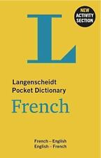 Langenscheidt Pocket Dictionary French : French-English/English-French by...
