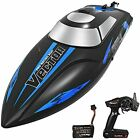 YEZI Remote Control Boat for Pools & Lakes Venom Fast RC Boat 2 Battery's Blue