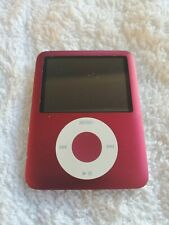 Apple iPod Nano 3rd Generation Red 8 GB Excellent Condition 90 DAY WARRANTY