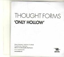 (DR768) Thought Forms, Only Hollow - 2013 DJ CD
