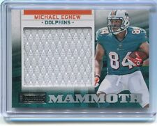 2012 Panini Playbook MICHAEL EGNEW (Rookie) Mammoth Jersey Relic /75 Dolphins