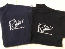 Lot 2 Black & Blue Robbie's Marina T-Shirts Islamorada, FL KEYS Youth Sz Small