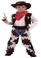 Cowboy fancy-dress costume childs wild west outfit, 2,3,4,5,6,7,8,9,10,11 12yrs