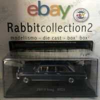 "DIE CAST "" 240 D LONG - 1973 "" MERCEDES COLLECTION SCALA 1/43 (59)"