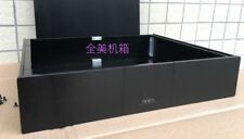 Personality NAIM style Full Aluminum preamp Chassis / Power Amplifier Enclosure