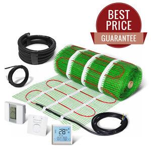 Electric Underfloor Heating Mat Self Adhesive KIT 200W/m2 - LIFETIME GUARANTEE!