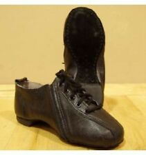 Capezio Jazz Shoe Ladies Isotope Dance Tan Black PP03 Leather New in Box