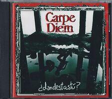 CARPE DIEM CD Donde.. Hyper Rare Spanish heavy 1997-SARATOGA-THOR-ZEUS-EXCALIBUR