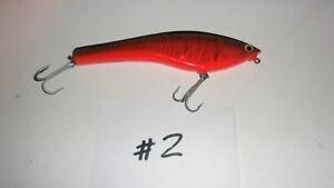 Bagley Bagleys B Flat 8 Musky Muskie Jerkbait Lure - Used (#2)