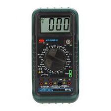 MASTECH MY62 Handheld Digital Multimeter DMM w/Temperature Capacitance &hFE Test
