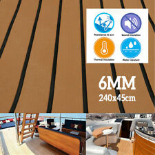 Deluxe EVA Foam Boat Marine Flooring Mat Faux Teak Decking Yacht Car Sheet  TDUK