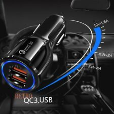 2 Ports USB Qualcomm QC Fast Charging Adapter ,Quick Charge 3.0 In Car Charger