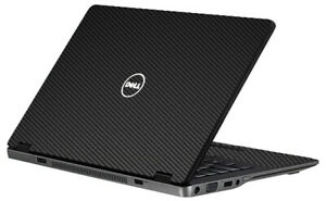 LidStyles Carbon Fiber Laptop Skin Protector Decal Dell Latitude E6420U/ E6430U