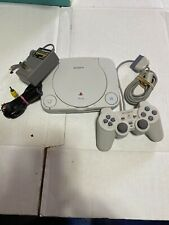 New listing Playstation Psone Console *Tested Working* With Official Controller