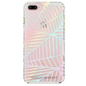 Designer Rebecca Minkoff foil phone case cover for iPhone 6 Plus 6s Plus 7 Plus