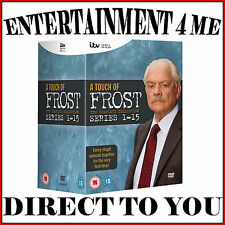 A TOUCH OF FROST - THE COMPLETE COLLECTION SERIES 1 - 15  *BRAND NEW DVD BOXSET*
