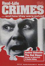 Real-Life Crimes No 94 Andrei Chikatilo The Red Ripper, William Desmond Taylor