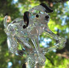 SWAROVSKI Crystal Sitting Dalmatian Dog Figurine