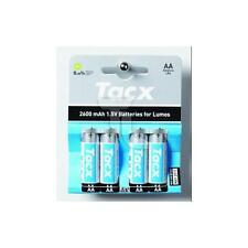 Tacx batterie per Lumos illuminazione 4 pezzi nuovo caricamento Triathlon