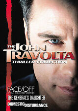 The John Travolta Thriller Collection (DVD, 2007, Multi-Disc Set) *NEW* 3 Movies