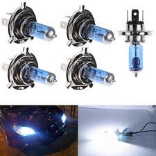 2 x H4 55W Halogen Light Bright White Car Headlight Bulbs Bulb Lamp 12V 5000K