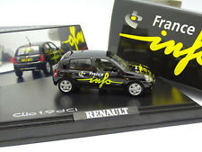 Norev 1/43 - Renault Clio 1.9 DCI France Info